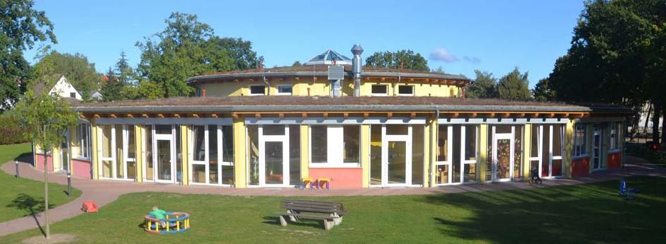 Willkommen in der deutsch-polnischen Kindertagesstätte ''Randow-Spatzen''
