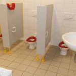 Wasch- und Toilettenbereich
